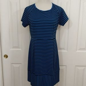 Stitch Fix Pixley Ashtyn striped dress size L